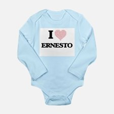 I Love Ernesto (Heart Made from Love wor Body Suit