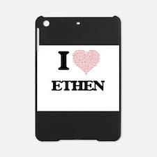 I Love Ethen (Heart Made from Love iPad Mini Case