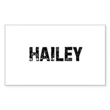 Hailey Rectangle Decal