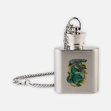 Cool Digitalart Flask Necklace