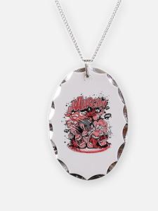 Unique Digitalart Necklace