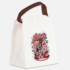Funny Digitalart Canvas Lunch Bag