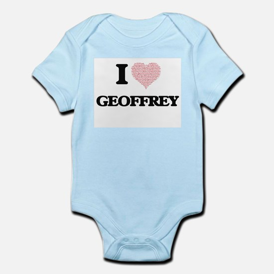 I Love Geoffrey (Heart Made from Love wo Body Suit