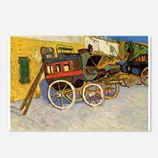 Van Gogh Wagons Postcards (package Of 8)
