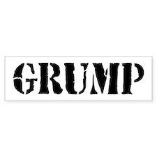 Grumps Bumper Bumper Sticker
