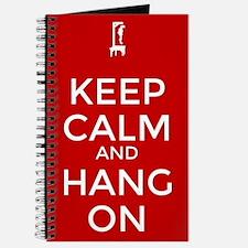 Keep Calm and Hang On Journal