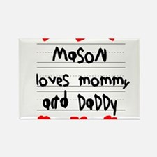 Cute Daddy baby Rectangle Magnet