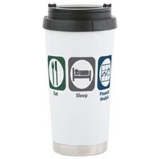 Cute Financial adviser Travel Mug