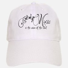 Music is the voice of the soul Baseball Baseball Cap