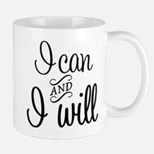 I can and I will Mugs