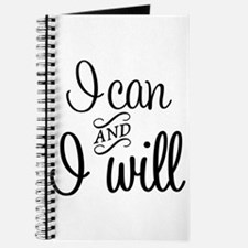 I can and I will Journal
