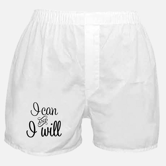 I can and I will Boxer Shorts
