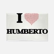 I Love Humberto (Heart Made from Love word Magnets