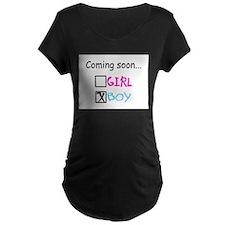 Unique Its a boy T-Shirt