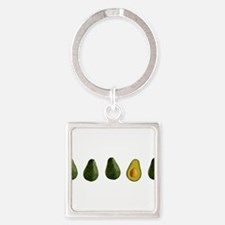 Cute Food and drink Square Keychain