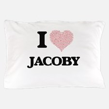 I Love Jacoby (Heart Made from Love wo Pillow Case