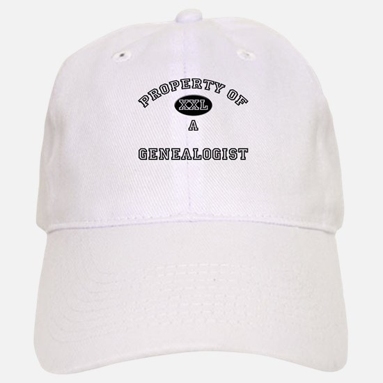 Property of a Genealogist Baseball Baseball Cap