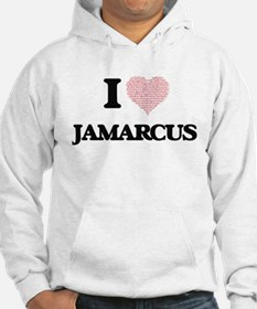 I Love Jamarcus (Heart Made from Hoodie