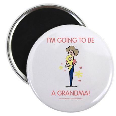 Soon To Be Grandma Magnet