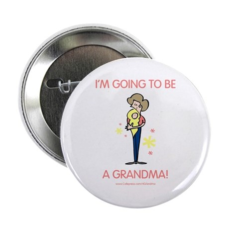 Soon To Be Grandma Button