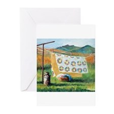 Funny Quilts Greeting Cards (Pk of 10)