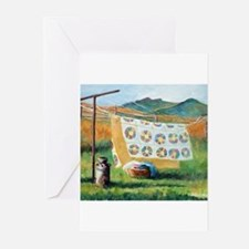 Cute Quilts Greeting Cards (Pk of 10)