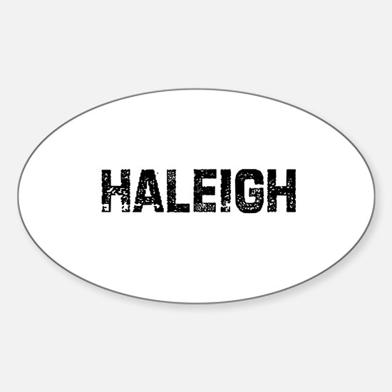 Haleigh Oval Decal