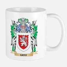 Gray Coat of Arms (Family Crest) Mugs