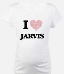I Love Jarvis (Heart Made from L Shirt