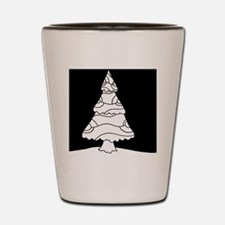 Trees at Night Series Shot Glass