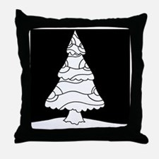 Trees at Night Series Throw Pillow