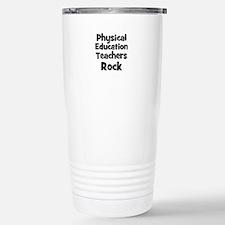 Unique Text1 rocks Travel Mug