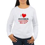 December 31st Women's Long Sleeve T-Shirt