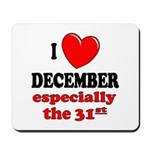 December 31st Mousepad