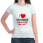 December 31st Jr. Ringer T-Shirt
