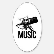 Recording studio Sticker (Oval)