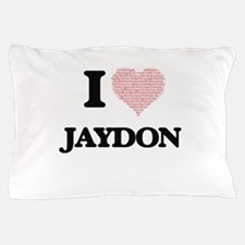 I Love Jaydon (Heart Made from Love wo Pillow Case