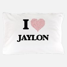 I Love Jaylon (Heart Made from Love wo Pillow Case