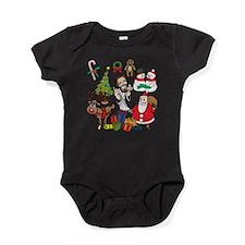 Cute Ugly christmas Baby Bodysuit