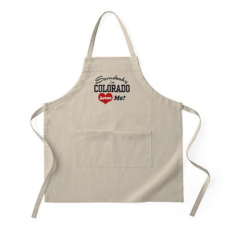 Somebody in Colorado Loves Me Apron