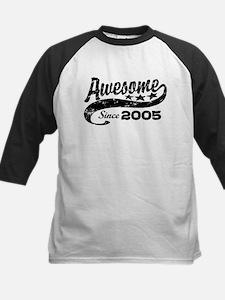 Awesome Since 2005 Kids Baseball Jersey