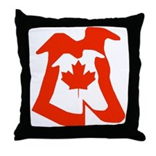 CANADA LOVERS THROW PILLOW