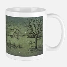 Winter's Midnight Mugs