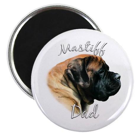 Mastiff(apricot)Dad2 Magnet