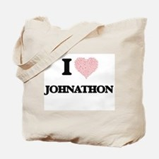 I Love Johnathon (Heart Made from Love wo Tote Bag