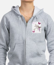 Cute Girly Zip Hoody