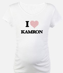 I Love Kamron (Heart Made from L Shirt