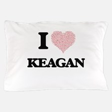 I Love Keagan (Heart Made from Love wo Pillow Case