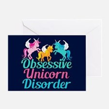 Cool Unicorn Greeting Card