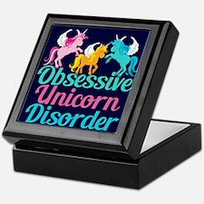 Cool Unicorn Keepsake Box